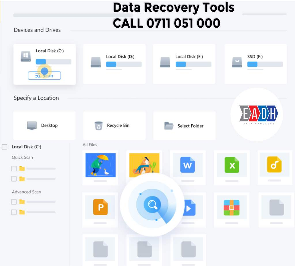 Free Data data recovery software